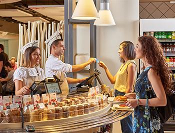 التسوق و المطاعم